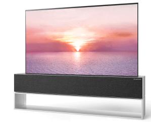 lg r oled tv, thinnest tvs 2021