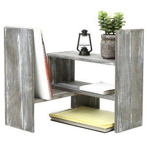 desk shelves millwood pines
