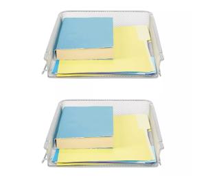 mind reader stackable letter tray