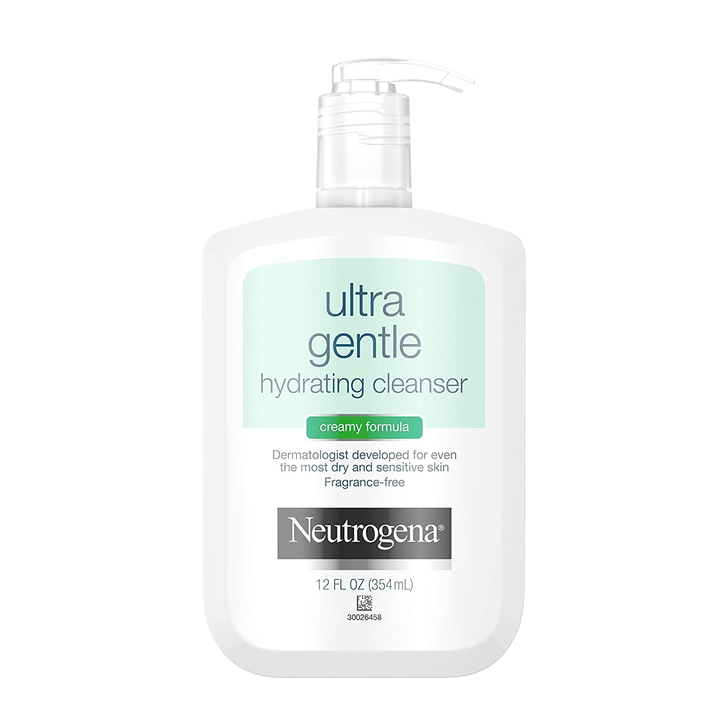 Neutrogena Ultra Gentle Hydrating Daily Facial Cleanser for Sensitive Skin; best men's skincare products