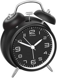best alarm clocks peakeep twin bell alarm