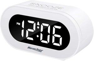 best alarm clocks reacher small led digital