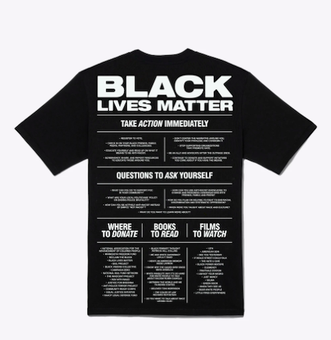 black lives matter shirts that give back