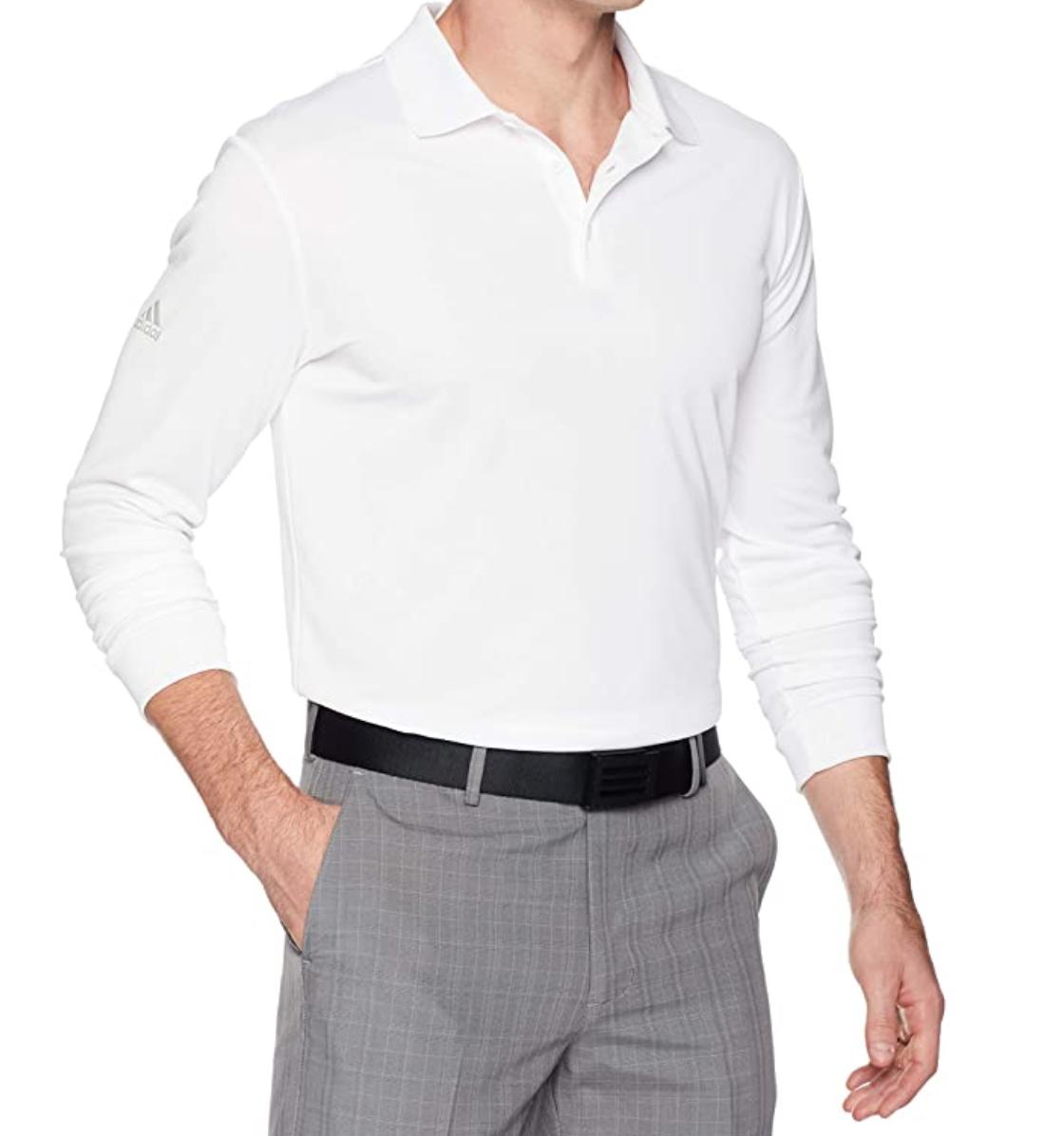 best golf shirts, adidas long sleeve polo