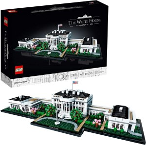 the white house LEGO model, LEGO sets for adults
