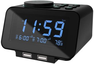 best alarm clocks uscce digital alarm clock radio