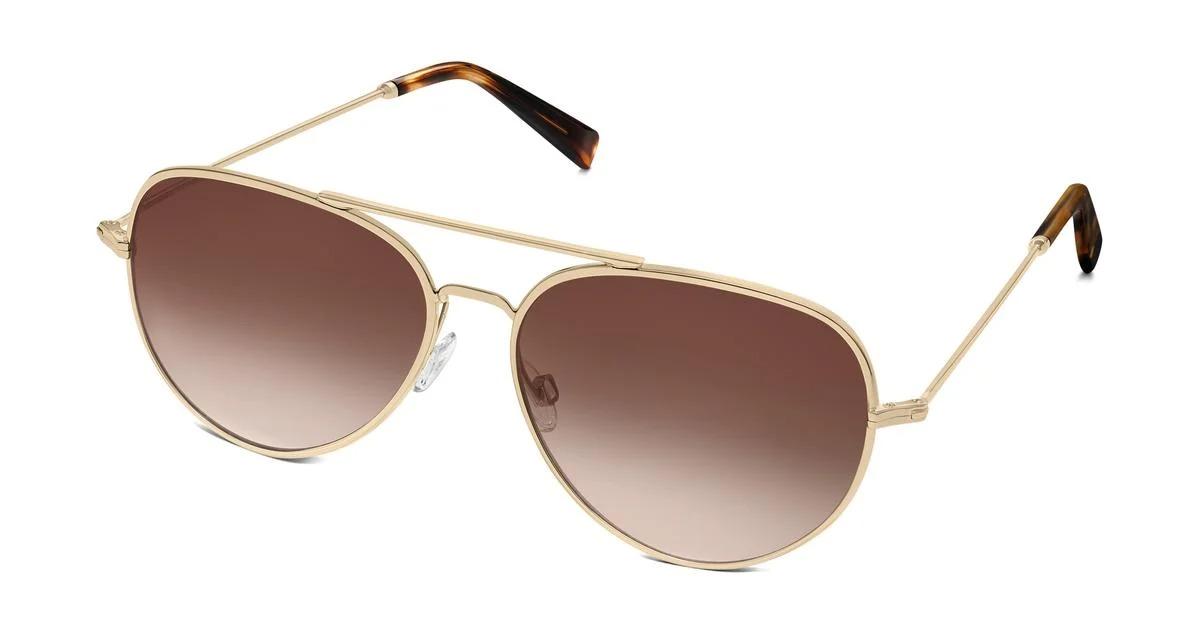Warby Parker Raider aviator sunglassesPrivé Revaux The Commando aviator sunglasses, best aviator sunglasses