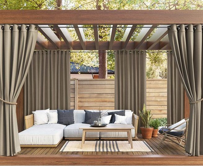 The Best Outdoor Patio Curtains For, What Is The Best Material For Outdoor Curtains