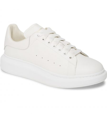 best white sneakers for men - Alexander McQueen Oversized Sneaker
