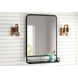 accent mirror shelf, mirror shelf