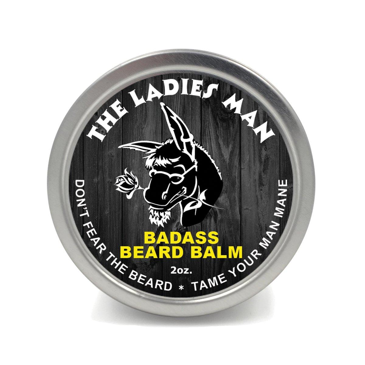 best beard balms - badass
