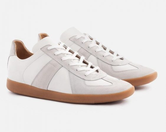 best white sneakers for men - Beckett SImonon Morgen Trainers