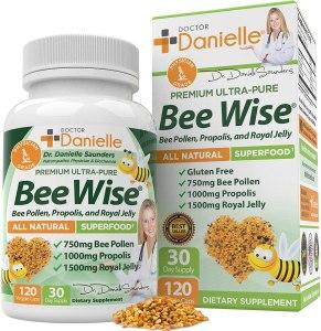 Bee Wise supplements, bee pollen supplements