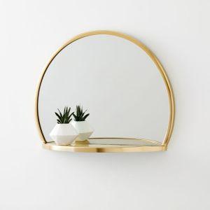 best circular mirror shelf, mirror shelf