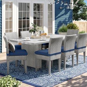 Rochford 9-piece dining set, outdoor patio sets