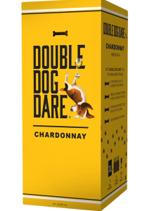 boxed wine Double Dog Dare Chardonnay