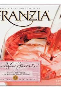 Franzia White Zinfandel Pink Wine boxed wine