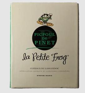 La Petite Frog Picpoul boxed wine