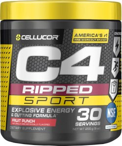 C4 Pre Workout, what to eat before a workout