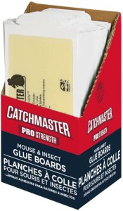 Catchmaster Glue Boards, how to get rid of roaches