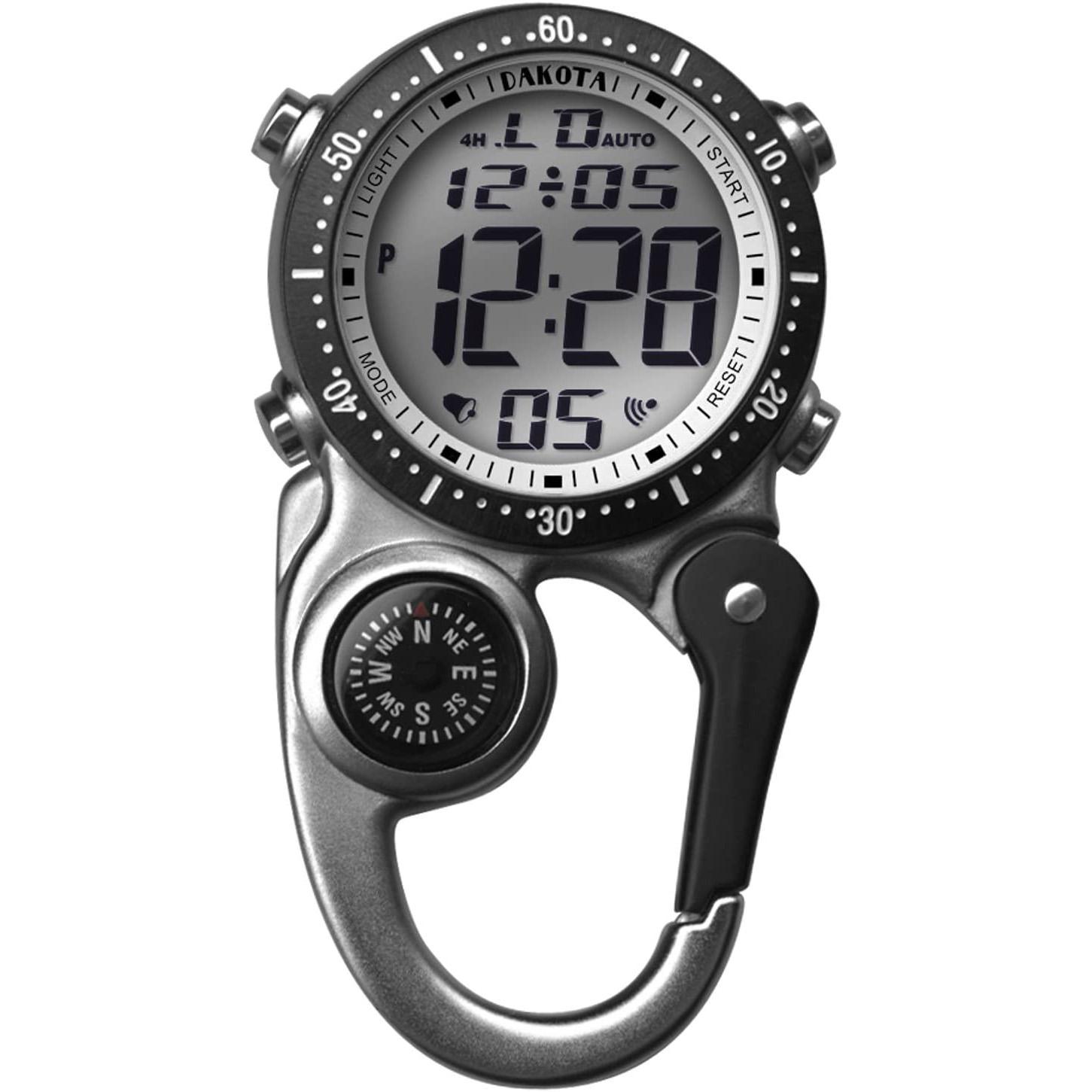 Dakota Watch Company Digi Clip Watch - BEST TIME-TELLER keychain