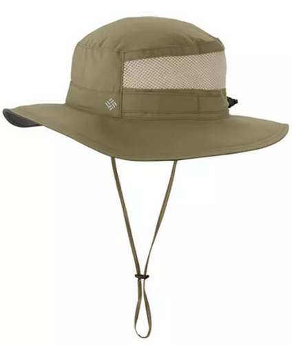 best hats for men - Columbia sage bora bora hat with neckstrap