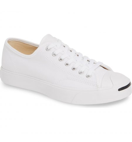 best white sneakers - Converse Jack Purcell White Sneaker