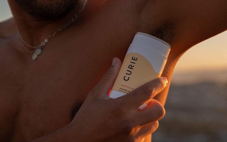 aluminum free deodorants - Curie Orange