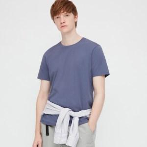 Uniqlo Supima Cotton Crew Neck T-Shirt