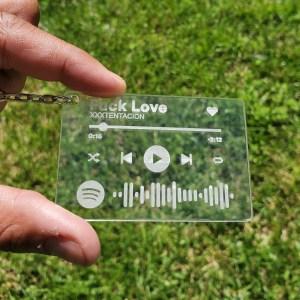 ElalyCuts Song Keychain