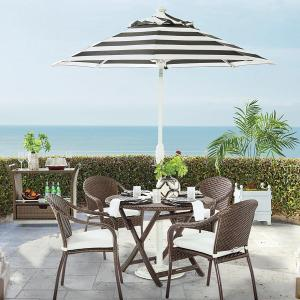 frontgate cafe dining collection, outdoor patio sets
