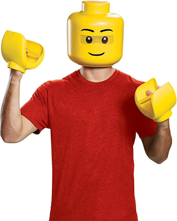 halloween costume ideas lego mask