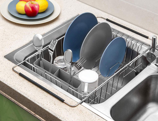 The 10 Best Over The Sink Dish Drying Racks For Your Kitchen In 2020 Spy