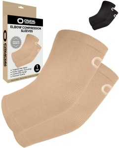 elbow compression sleeve crucial compression