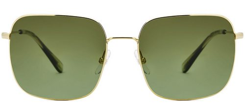 Etnia Barcelona oversized green sunglasses