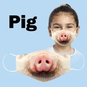 Etsy 3D animal face masks for kids