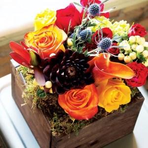 farmhouse fleur arrangement, flower delivery services