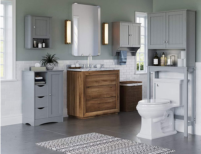 The 10 Best Linen Cabinets Of 2020 That, Bathroom Vanity And Linen Cabinet