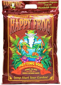 Fox Farm Happy Frog plant soil, how to take care of plants