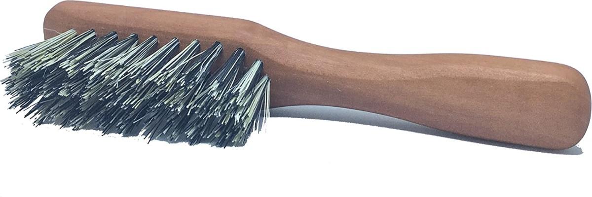 Golden Beards vegan beard brush with vegetal bristles