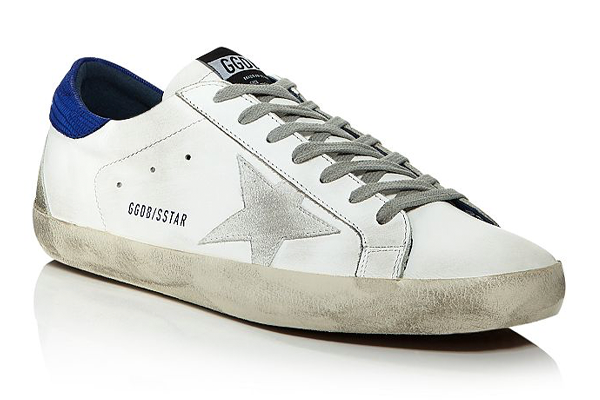Golden Goose Deluxe Superstar White Sneaker
