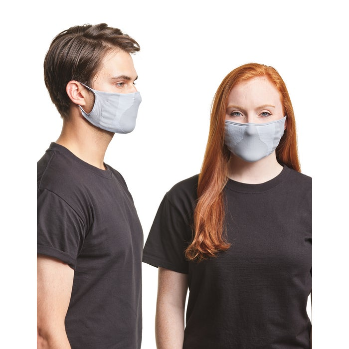 Hanes stretch-to-fit face masks, athletic face masks, face masks for running and cycling