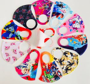 happy fins washable face masks for kids