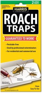 HARRIS roach glue traps, how to get rid of roaches