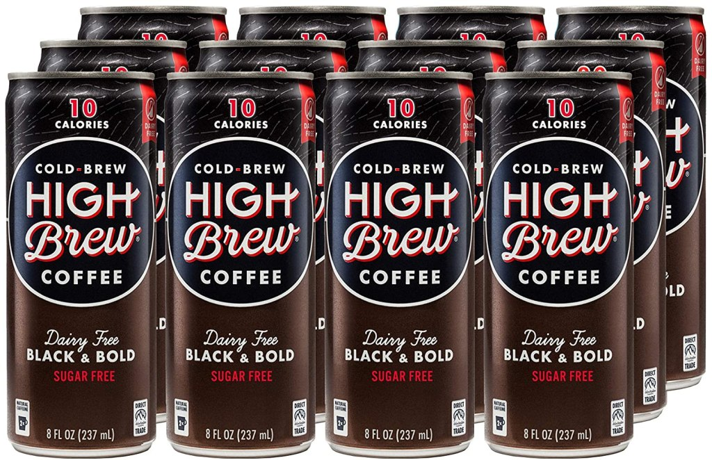 best cold brew coffee high brew