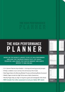 the high performance planner, best productivity planner