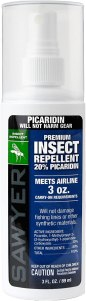 Sawyer Products Picaridium Insect Repellant, bug spray