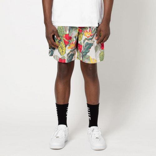 HUF paraiso tropical print tech shorts