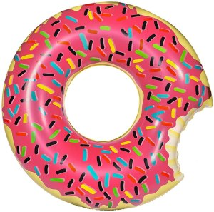best pool float inflatables donut