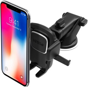 iOttie Easy One Touch Dash and Windshield Car Mount Phone Holder